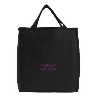 Norton Softball Embroidered Bag
