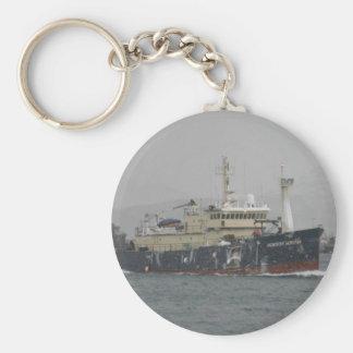 Norton Sound, Longliner in Dutch Harbor, AK Keychain