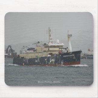 Norton Sound, Longliner in Dutch Harbor, Alaska Mouse Pad