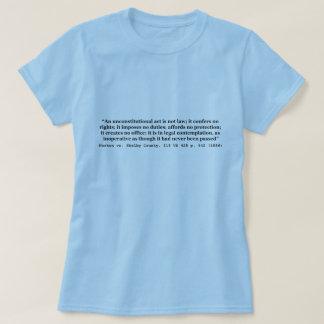 Norton v Shelby County 118 US 425 1886 T-Shirt