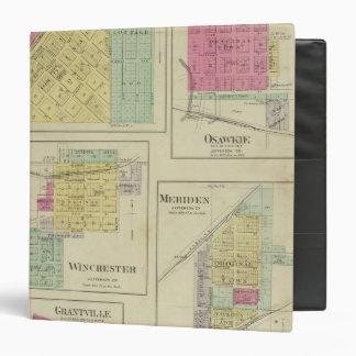 Nortonville, Osawkie, Winchester, Kansas Binder
