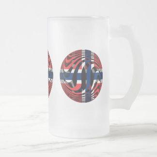 Noruega #1 taza de cristal