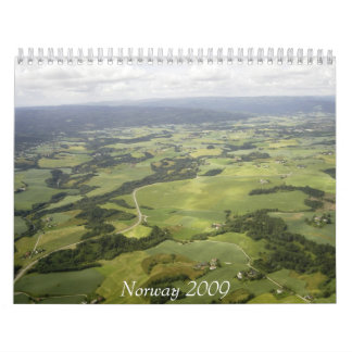 Noruega 2009 calendarios
