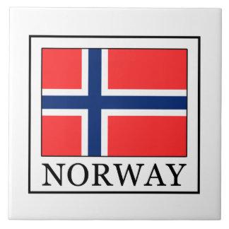 Noruega Azulejo Cuadrado Grande