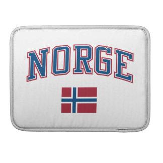 Noruega + Bandera Fundas Macbook Pro