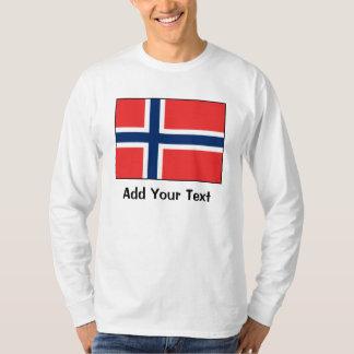 Noruega - bandera noruega camisas
