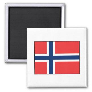 Noruega - bandera noruega imán para frigorifico