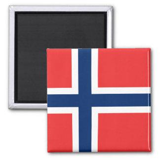 Noruega - bandera noruega imán de frigorífico