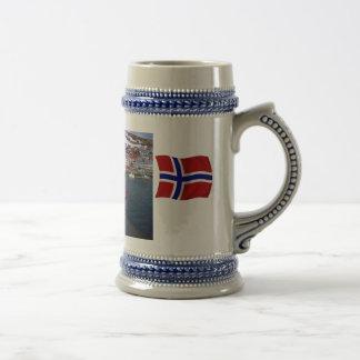 Noruega, buque de Port Authority en el listo Taza De Café