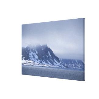 Noruega, Círculo Polar Ártico, Océano Atlántico de Impresion De Lienzo