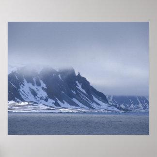 Noruega, Círculo Polar Ártico, Océano Atlántico de Poster