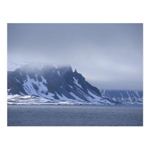 Noruega, Círculo Polar Ártico, Océano Atlántico Tarjeta Postal
