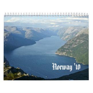 Noruega de exploración calendario