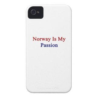 Noruega es mi pasión iPhone 4 Case-Mate cárcasas