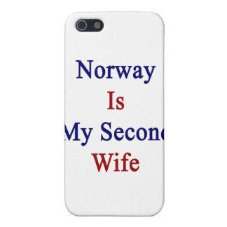Noruega es mi segunda esposa iPhone 5 coberturas
