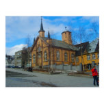 Noruega, iglesia luterana postal