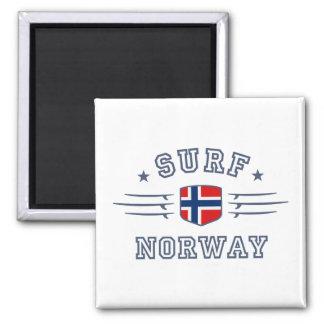 Noruega Imán Cuadrado