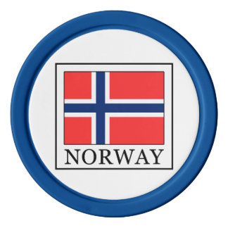 Noruega Juego De Fichas De Póquer