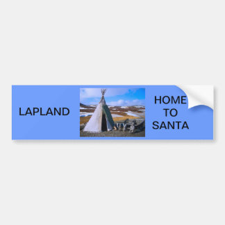 Noruega, Laponia, acuerdo de Sami Pegatina Para Auto