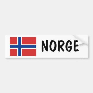 Noruega Pegatina Para Auto