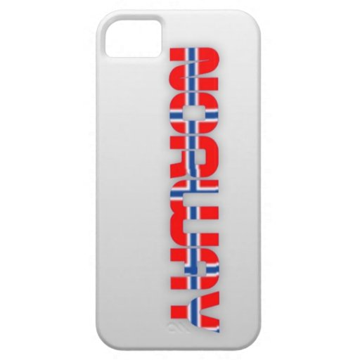 Noruega pone letras al caso del iPhone iPhone 5 Funda
