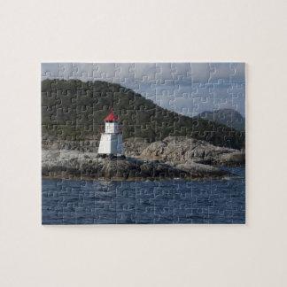 Noruega, Stavanger. Opiniónes a lo largo de Lysefj Rompecabezas Con Fotos