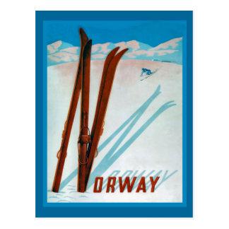 Noruega Tarjeta Postal