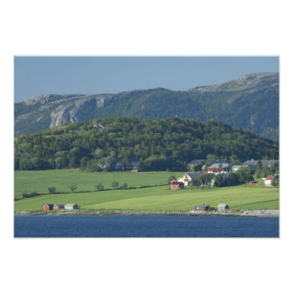 Noruega, Trondheimsforden, Strondheim. Típico Arte Fotográfico