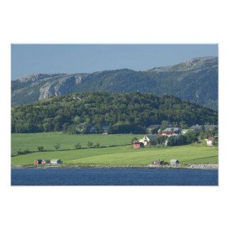 Noruega, Trondheimsforden, Strondheim. Típico Fotografía