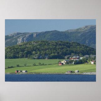 Noruega, Trondheimsforden, Strondheim. Típico Posters