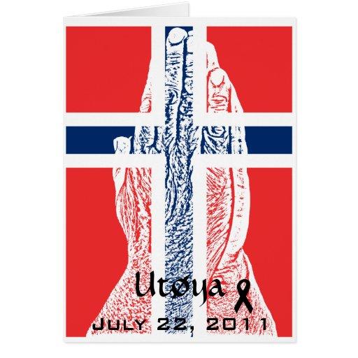 Noruega Utoya Tarjeta Pequeña