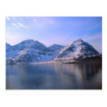 Noruega, viaje con los fijords tarjeta postal