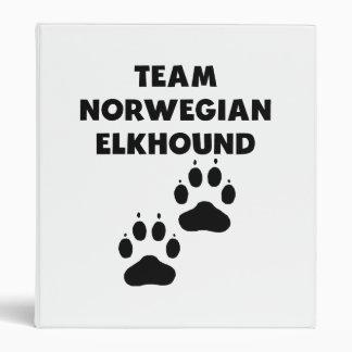 Noruego Elkhound del equipo