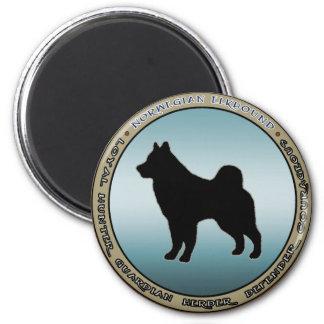 Noruego Elkhound Imanes Para Frigoríficos