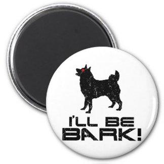 Noruego Elkhound Imán De Frigorífico
