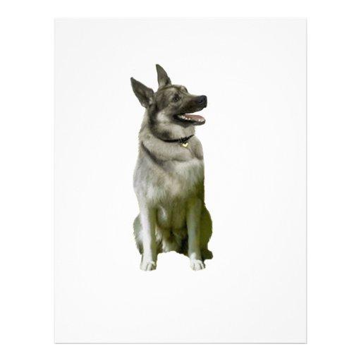 Noruego Elkhound Membrete
