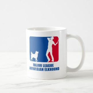 Noruego Elkhound Taza