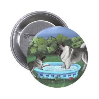 Noruego Elkhounds de los placeres simples del ver Pins
