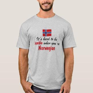 Noruego humilde playera
