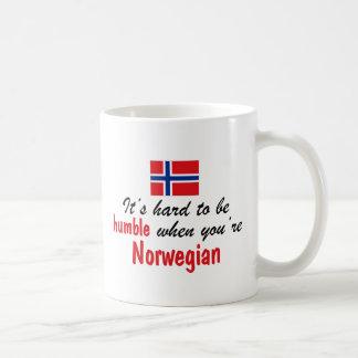 Noruego humilde taza de café