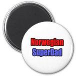 Noruego SuperDad Iman De Frigorífico