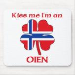 Noruegos personalizada me besan que soy Oien Tapete De Raton
