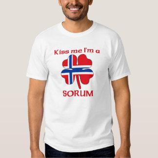 Noruegos personalizada me besan que soy Sorum Playera