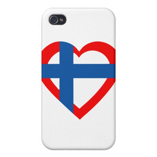 norvegia-heart iPhone 4/4S cover