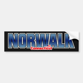 Norwalk Bumper Bumper Sticker