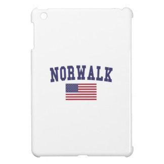 Norwalk CA US Flag iPad Mini Cover