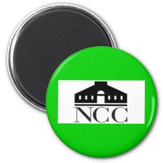 norwalk community college ct logo 2 inch round magnet