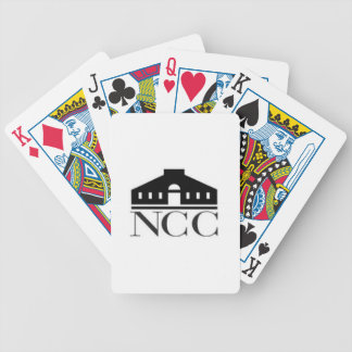 norwalk community college ct logo bicycle playing cards