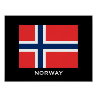 """Norway 16"""" x 12"""", Value Poster Paper (Matte)"""