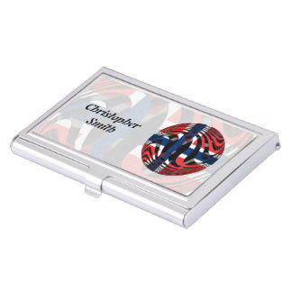 Norway #1 business card holder
